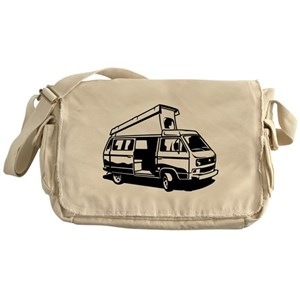 9c710a2523 Camper Van Messenger Bags - CafePress