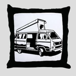 Camper Van 3.2 Throw Pillow