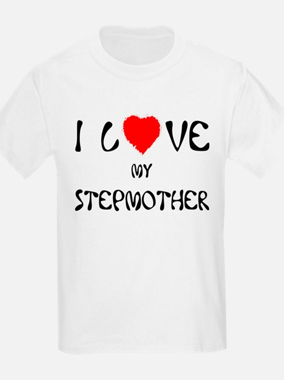I Love My Stepmother Ash Grey T-Shirt T-Shirt
