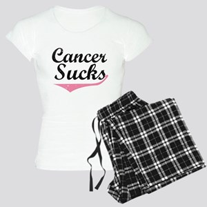 Cancer sucks Women's Light Pajamas
