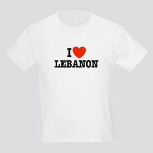 I Love Lebanon Kids T-Shirt