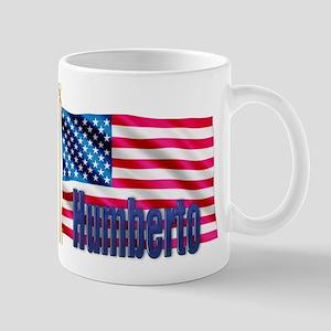 Humberto Personalized USA Flag Mug