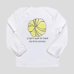 I Cant Wait for MoMo Long Sleeve T-Shirt
