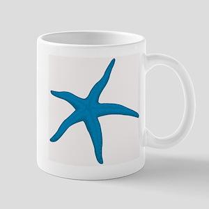 Blue Starfish Mug