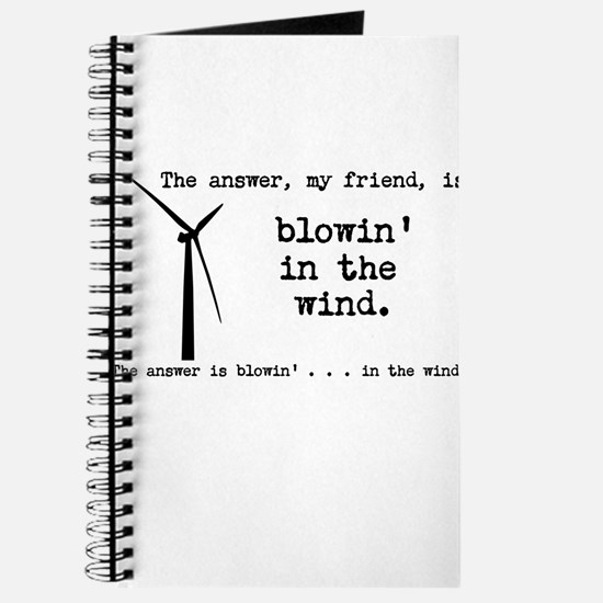 blowin in the wind Journal