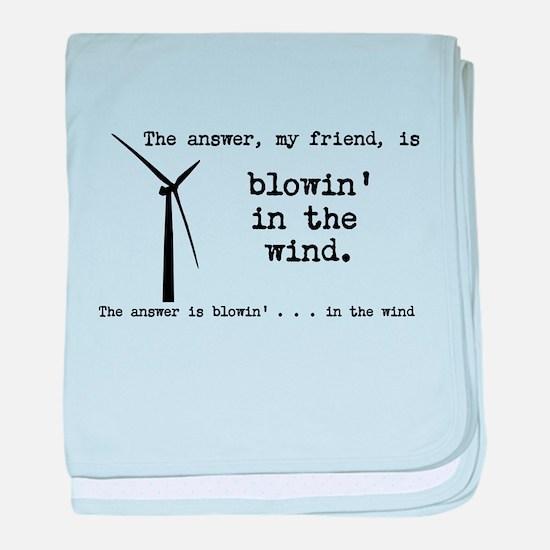 blowin in the wind baby blanket