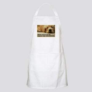 Happiness is Golden BBQ Apron