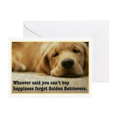 Happiness is Golden Greeting Cards (Pk of 10)