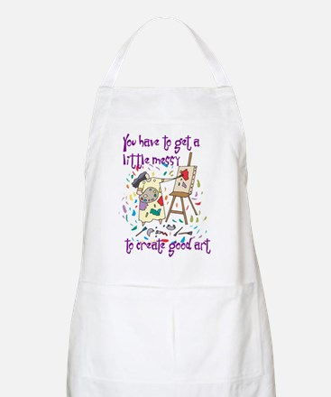 You Have to Get a Little Mess BBQ Apron