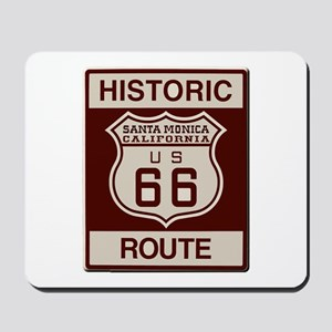Santa Monica Route 66 Mousepad