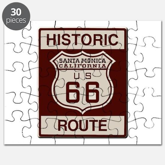 Santa Monica Route 66 Puzzle