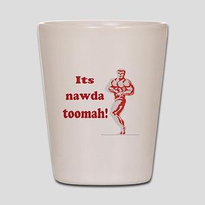 nawda toomah Shot Glass