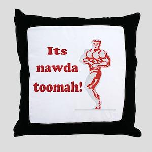 nawda toomah Throw Pillow