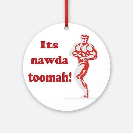 nawda toomah Ornament (Round)