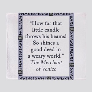 How Far That Little Candle Throw Blanket