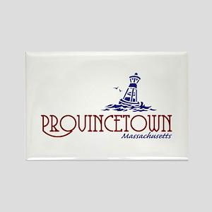 Provincetown Massachusetts Rectangle Magnet