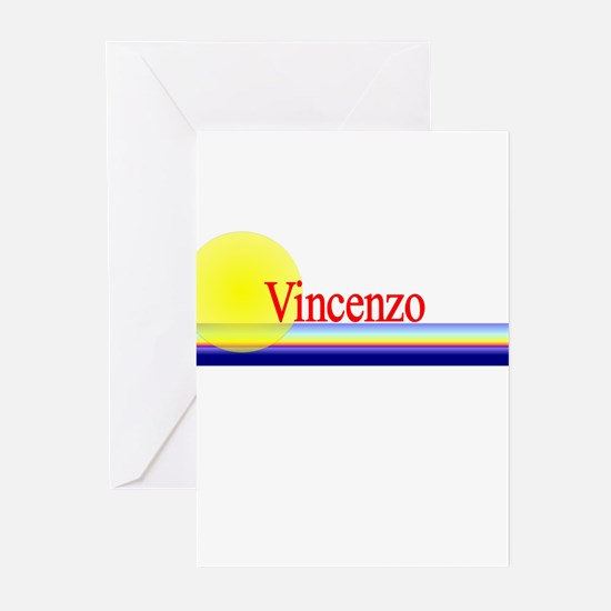 Vincenzo Greeting Cards (Pk of 10)