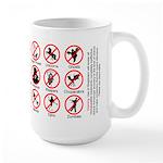 Skeptical Protection Large Mug