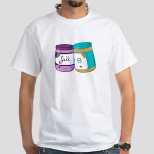 Peanut Butter and Jelly Love White T-Shirt