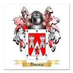 Almanza Square Car Magnet 3