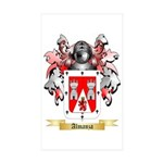 Almanza Sticker (Rectangle 50 pk)