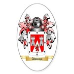 Almanza Sticker (Oval)