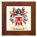 Almanza Framed Tile