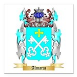 Almaraz Square Car Magnet 3