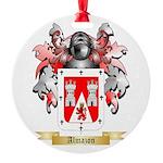 Almazon Round Ornament