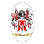 Almazon Sticker (Oval 50 pk)