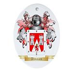 Almazon Ornament (Oval)