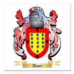 Almer Square Car Magnet 3