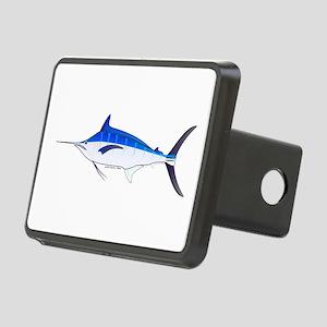 Blue Marlin fish Rectangular Hitch Cover