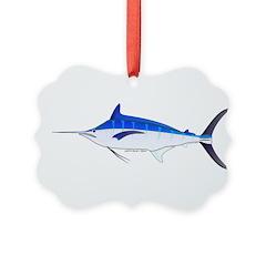 Blue Marlin fish Ornament