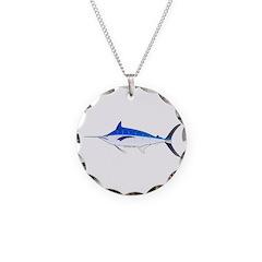 Blue Marlin fish Necklace
