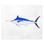 Blue Marlin fish King Duvet