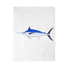 Blue Marlin fish Twin Duvet