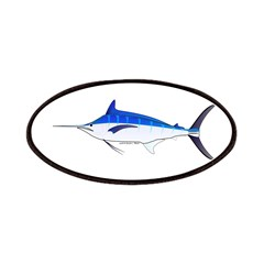 Blue Marlin fish Patches