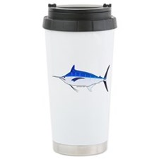 Blue Marlin fish Stainless Steel Travel Mug