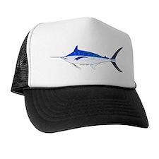 Blue Marlin fish Trucker Hat
