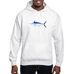 Blue Marlin fish Hooded Sweatshirt