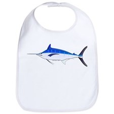 Blue Marlin fish Bib