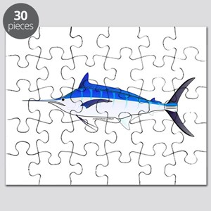 Blue Marlin fish Puzzle
