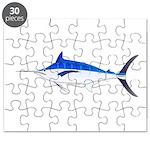 Blue Marlin fish Puzzle