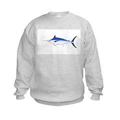 Blue Marlin fish Sweatshirt