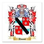 Almont Square Car Magnet 3