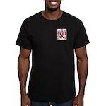 Almonte Men's Fitted T-Shirt (dark)