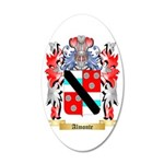 Almonte 35x21 Oval Wall Decal
