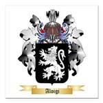 Aloigi Square Car Magnet 3