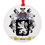 Alois Round Ornament